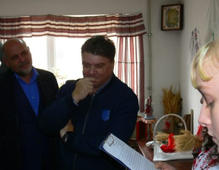 Зустріч з міністром молоді і спорту України Ігорем Ждановим
